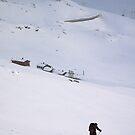 Going uphill from Hallinskeid by Algot Kristoffer Peterson