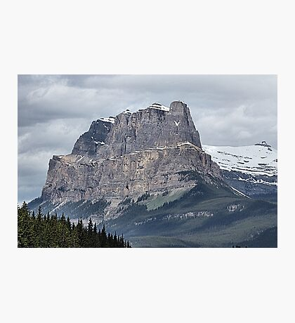 So Majestic - Castle Mountain Photographic Print