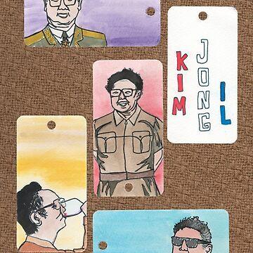 Kim Jong Il by mybadtvhabit