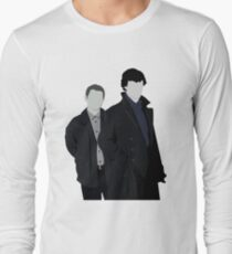 Sherlock and John Long Sleeve T-Shirt