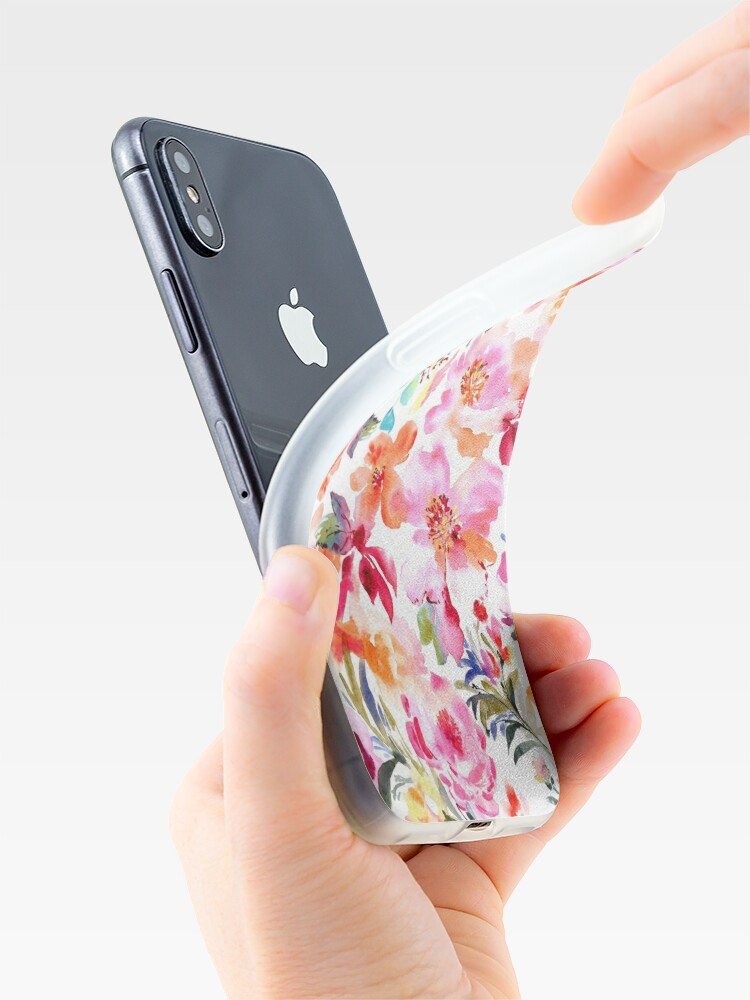 Alternative Ansicht von Frühling mit Blumen iPhone-Hüllen & Cover