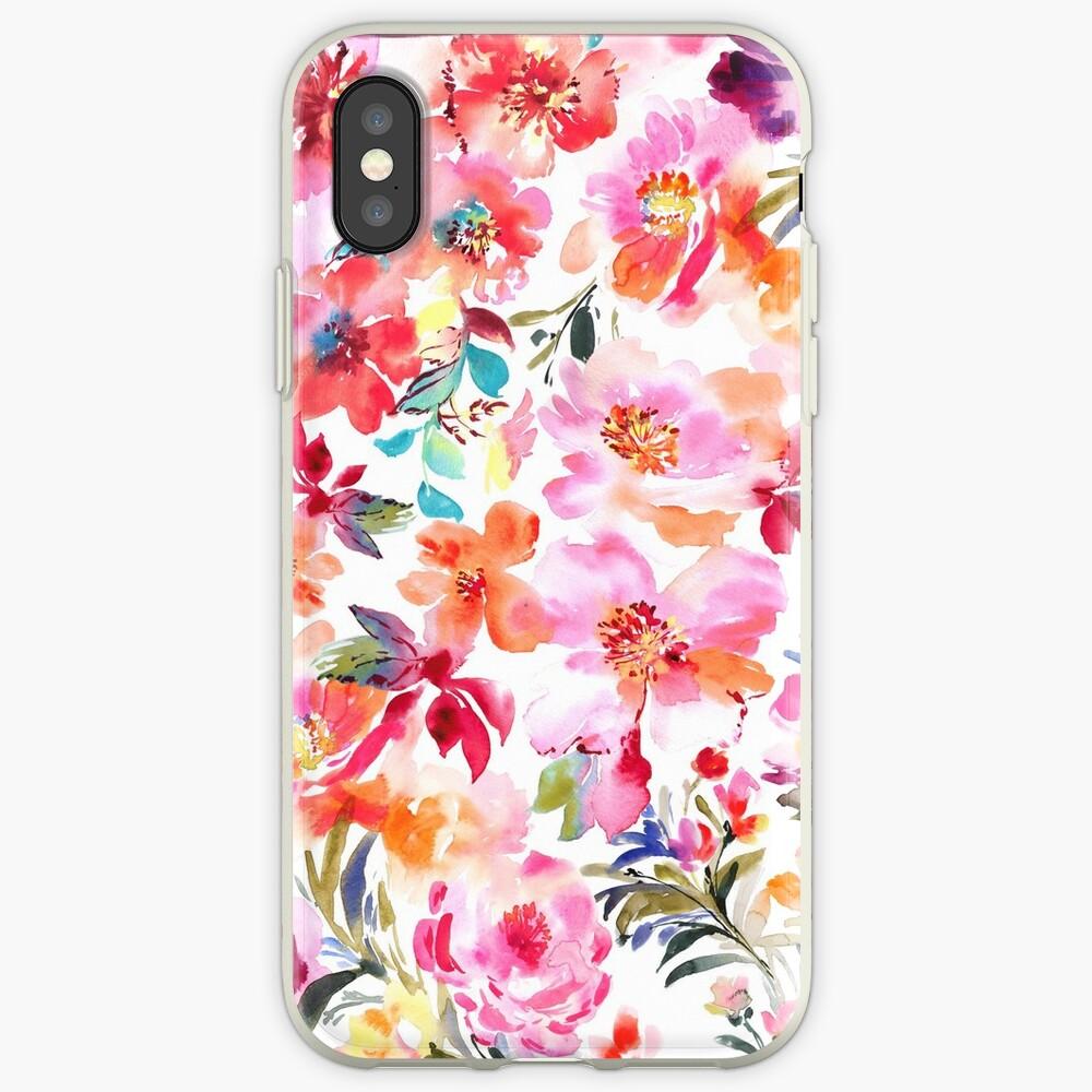 Frühling mit Blumen iPhone-Hüllen & Cover