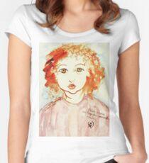 Alice Still In Wonderland Women's Fitted Scoop T-Shirt