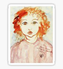 Alice Still In Wonderland Sticker