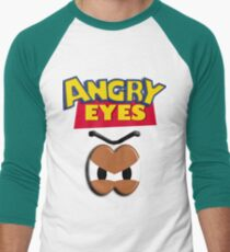 Angry Eyes Men's Baseball ¾ T-Shirt