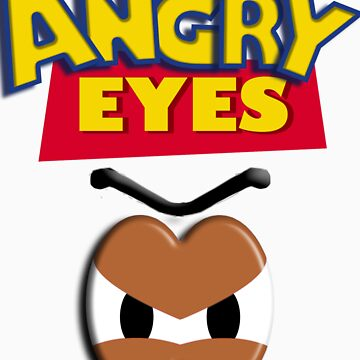 Angry Eyes by JessicaCupcake