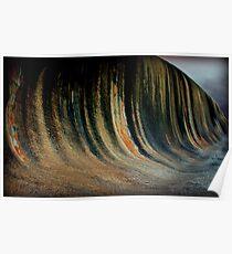 Wave Rock,  Western Australia Poster