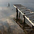 Weathered Dock by JGetsinger