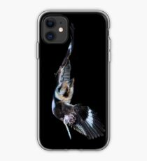 Kookaburra in flight iPhone Case