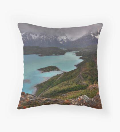 The Grandeur of Torres del Paine Throw Pillow
