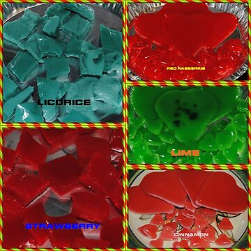 Sugar Free Low Carb Gummies Collage by Jonice