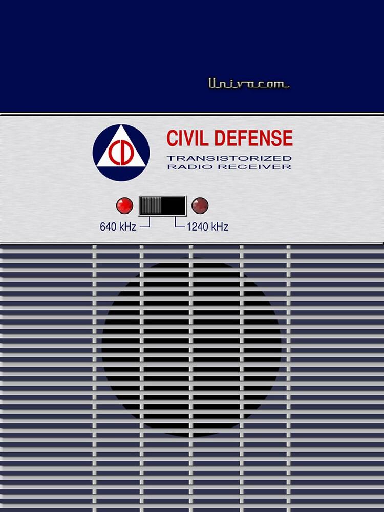 Radio de Defensa Civil de ubiquitoid