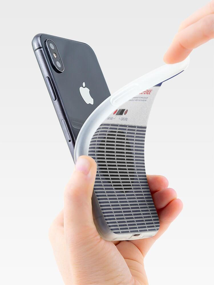 Vista alternativa de Vinilos y fundas para iPhone Radio de Defensa Civil