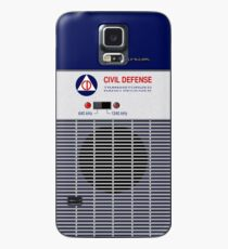 Civil Defense Radio Case/Skin for Samsung Galaxy