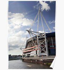 Cardiff Millennium Stadium Poster