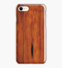 faux Wood Grain iPhone Case/Skin
