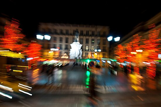 Lisbon downtown during Christmas by luissantos84