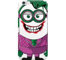 Parody Joker Minion iPhone Case/Skin