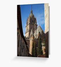 Salamanca Cathedral Greeting Card