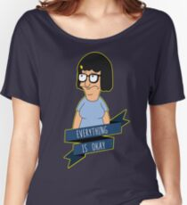 Everything Is Okay - Color Women's Relaxed Fit T-Shirt