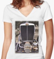 MG PA Women's Fitted V-Neck T-Shirt