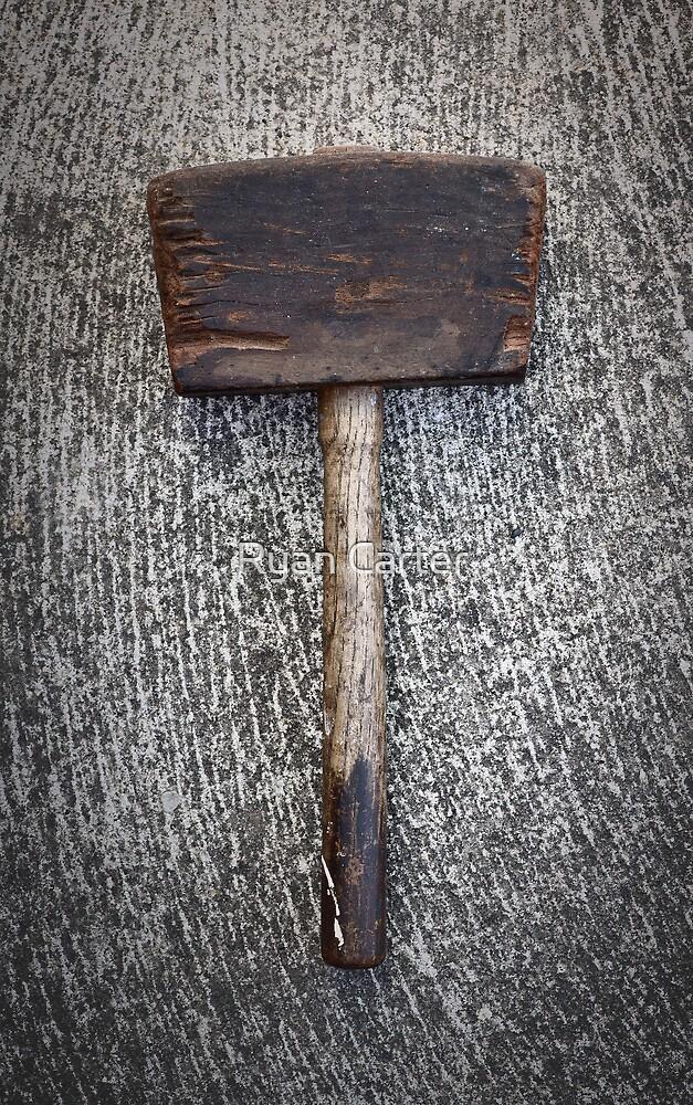 Antique Hammer by Ryan Carter