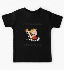 Calvin and Hobbes Little Imagine Kids Tee