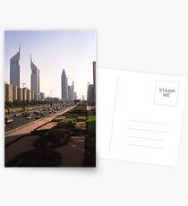 Sheikh Zayed road, Dubai Postcards
