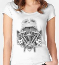 Morgan Supersport Women's Fitted Scoop T-Shirt