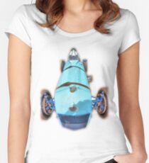 BWA Vintage Car Women's Fitted Scoop T-Shirt