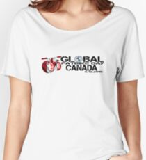 Global Fatbike Day 2015 - Canada Women's Relaxed Fit T-Shirt