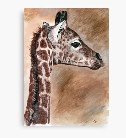 Krys's little African prince Canvas Print