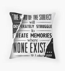 Infinite Starter Poster Throw Pillow