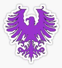 Purple eagle Sticker