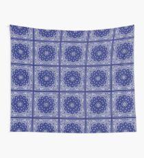 Blue Bandana  Wall Tapestry