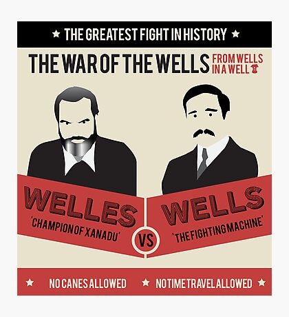 War of the wells Photographic Print