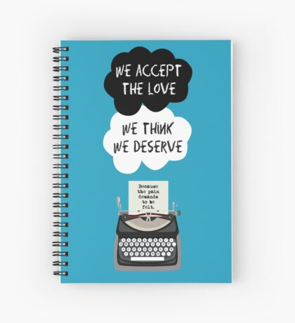 The perks in our stars. Spiral Notebook