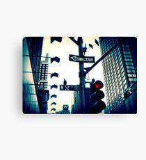 52nd Street - NYC Canvas Print