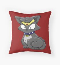 Wonder Kitty Throw Pillow