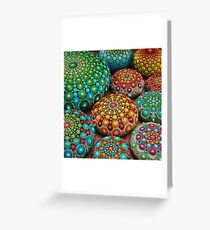 Mandala Stone Collection- Fire and Water Greeting Card