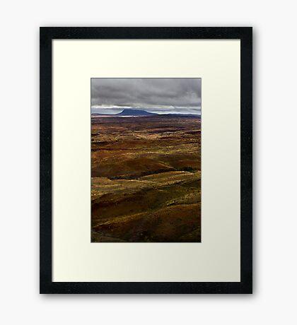 Mount Newman Framed Print