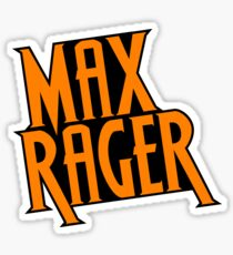 Max Rager (Stacked) - iZombie Sticker