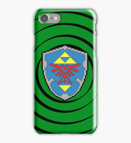 8-Bit Hylian Shield iPhone Case/Skin
