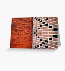 brick Greeting Card