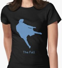 The Reichenbach Fall Women's Fitted T-Shirt