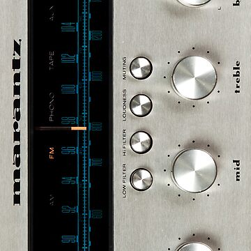 Marantz 2230 Faceplate iPhone case by jdmosher