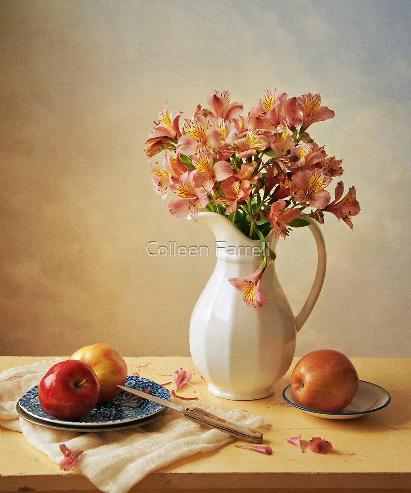 Lilies and Apples by Colleen Farrell