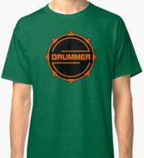 Orange Drummer Classic T-Shirt