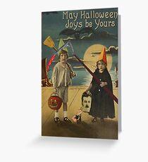 Halloween Card of Horror  Greeting Card