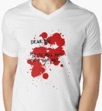 Dear Jim... Men's V-Neck T-Shirt